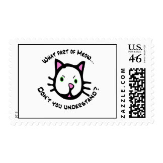 What part of Meow... Stamp