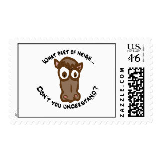 What part of Neigh... Postage Stamps