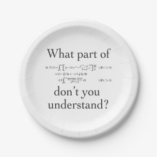 What Part of... Paper Plate