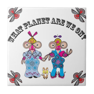 What Planet Are We On? Ceramic Tile