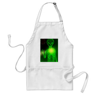 What Planet Are You From Adult Apron