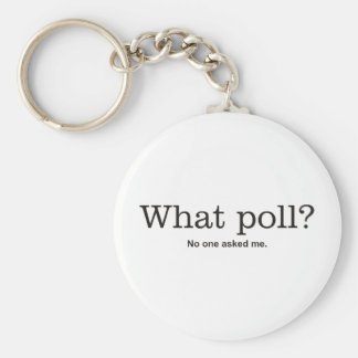 What poll? keychain