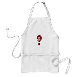 What Question Mark Adult Apron
