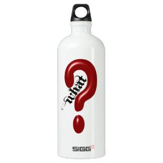 What Question Mark Aluminum Water Bottle