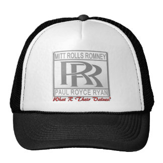 What R Their Values? Trucker Hat