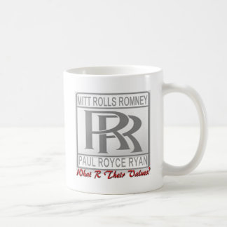 What R Their Values? Mugs