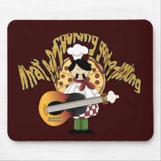 What's-a-cooking-good-a-looking Mouse Pad