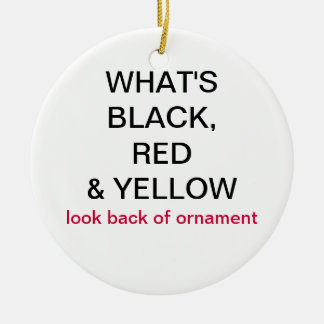 What s Black Red Yellow Germany Flag Ornament