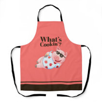 What's Cookin' Cool Pig Apron