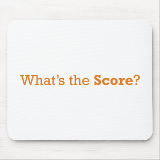 What's the Score Mouse Pad