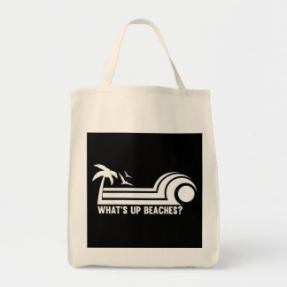 What's Up Beaches? Canvas Bags