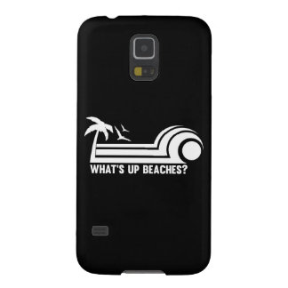 What's Up Beaches? Galaxy S5 Case