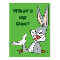WHAT'S UP DOC?™ BUGS BUNNY™ Rabbit Hole Postcard
