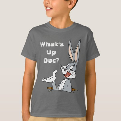 WHATâS UP DOCâ BUGS BUNNYâ Rabbit Hole T_Shirt