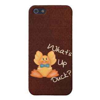 What´s Up Duck? iPhone 5/5S Cover