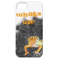 What´s UP? iPhone 5, case, gecko, leopard, iPhone SE/5/5s Case