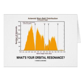 What s Your Orbital Resonance Astronomy Humor Cards
