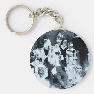 What Santa Does on December 26th - Vintage Keychain