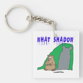 What Shadow 2 Double-Sided Square Acrylic Keychain