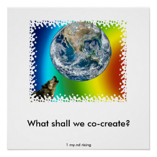 What shall we co -create? poster