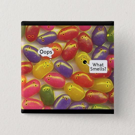 What Smells? Jelly Beans Button