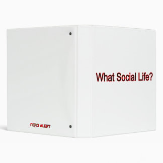 What Social Life? Binder