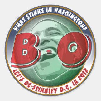 What Stinks in Washington? Classic Round Sticker