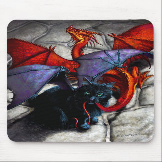 WHAT THE CATABAT DRAGGED IN MOUSEPADS