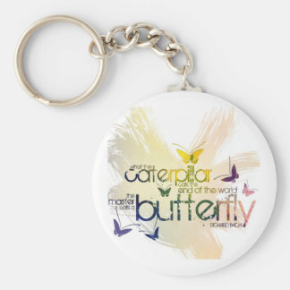 what the caterpillar calls the end of the world th keychain