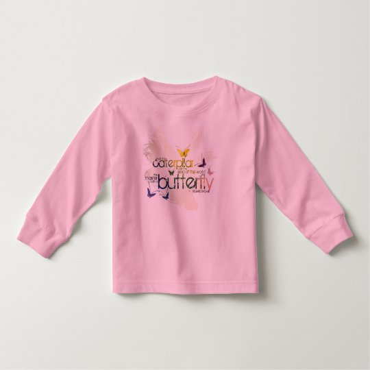 what the caterpillar calls the end of the world th toddler t-shirt