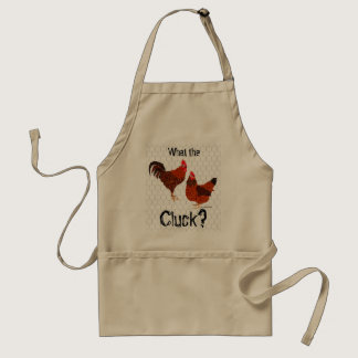 What the Cluck? - Chickens Adult Apron