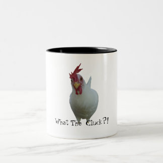 What The Cluck?! Two-Tone Coffee Mug
