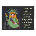 What the country needs is ... - greeting card
