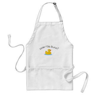 What the Duck Adult Apron