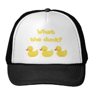 What the Duck? Trucker Hat