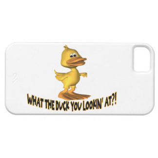 What The Duck You Lookin At iPhone SE/5/5s Case