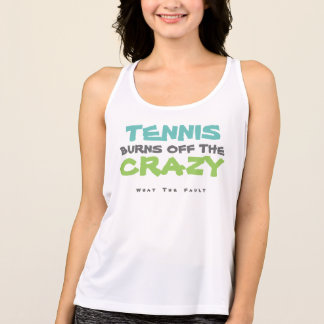 What the Fault: Tennis Burns off the Crazy Top
