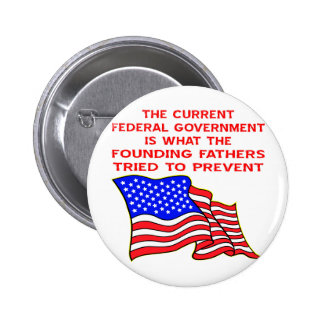 What The Founding Fathers Tried To Prevent 2 Inch Round Button