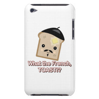 what the french toast cute kawaii toast cartoon iPod touch cases