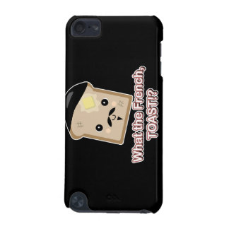 what the french toast cute kawaii toast cartoon iPod touch 5G case