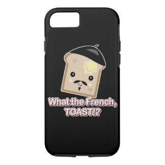 what the french toast cute kawaii toast cartoon iPhone 8/7 case