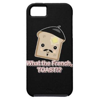 what the french toast cute kawaii toast cartoon iPhone SE/5/5s case