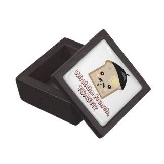 what the french toast cute kawaii toast cartoon jewelry box