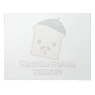 what the french toast cute kawaii toast cartoon memo notepad