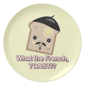 what the french toast cute kawaii toast cartoon plate