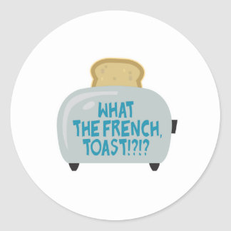 what the french toast round sticker