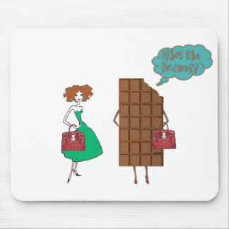 What the Fudge! Mouse Pad