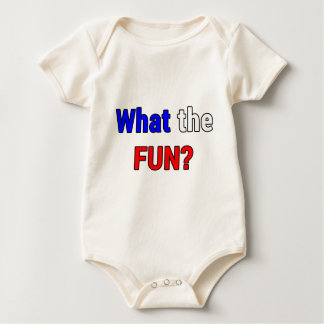 What the Fun Baby Bodysuit