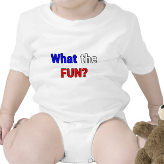 What the Fun Baby Bodysuits
