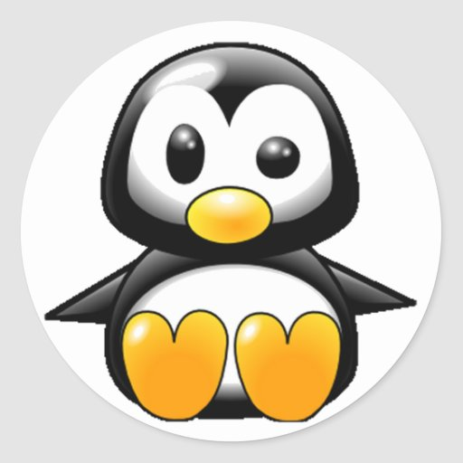 What the Heck Penguin Stickers